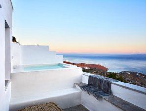 Living Theros Luxury Suites- Καρδιανή, Τήνος